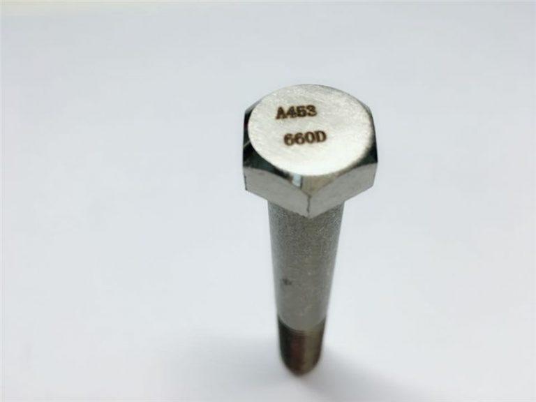 a286 taas nga kalidad nga mga fastener sa astm a453 660 en1.4980 nga pag-ayo sa turnilyo sa makina