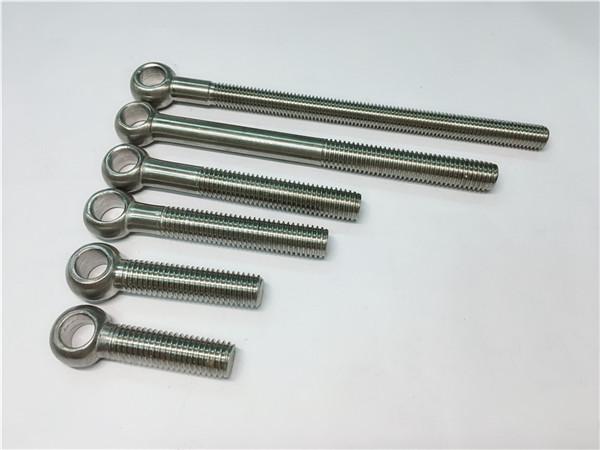 904l / 1.4539 / uns n08904 eye bolt, na-customize nga mga bolts alang sa pagpundok sa balbula