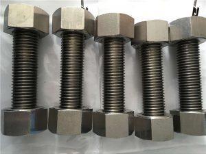 Nickel alloy 400 EN2.4360 nga bug-os nga gunitanan ang mga goma nga may mga fastener