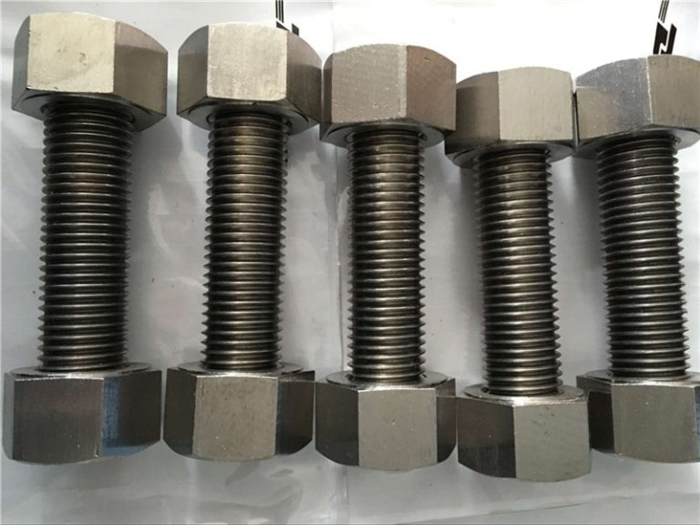 nickel alloy 400 en2.4360 nga bug-os nga gunitanan ang mga goma sa fastener