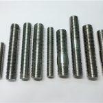 alloy718 / 2.4668 thread gunitanan, stud bolts fastener din975 / din976