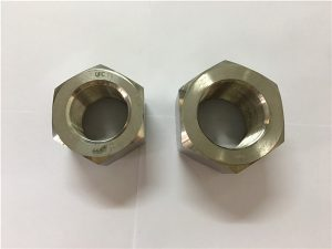 No.111-Ang paghimo og nikel alloy A453 660 1.4980 hex nuts