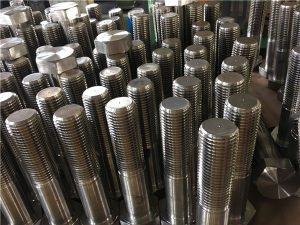 Ang No.12-hex bolts nga ISO4014 tunga nga hilo A193 B8, B8M, B8T, B8C SS fastener