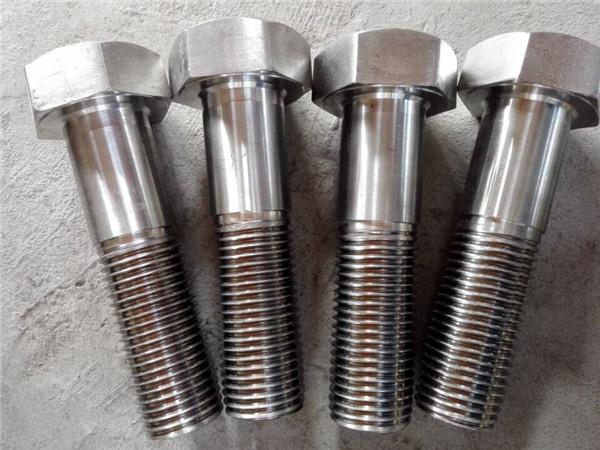 nitronic 50 xm-19 hex bolt din931 uns s20910