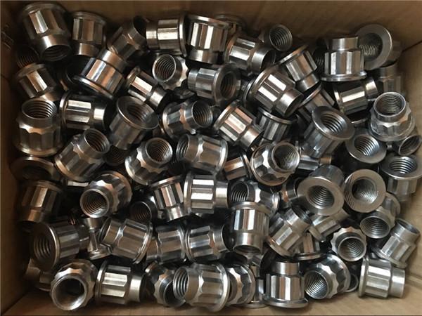 naandan nga fastener m20 17-4ph flange nut, taas nga temperatura nga alloy 630