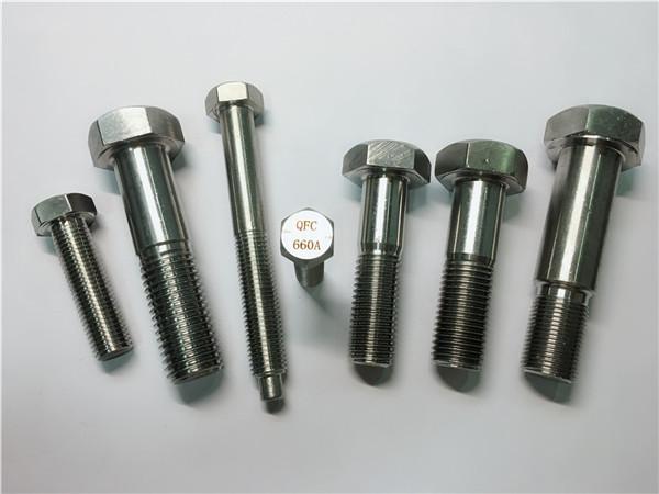 kwalipikado nga hex cap screw a453 gr.660 din 1.4980 alloy