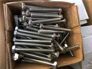 No.51-Ang bug-os nga sinulud nga hex bolt, nut, washers. A193 GR B8C, B8T, B8M
