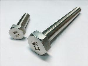 No.59-Incoloy 925 bolt mani nga mga washer, alloy825925 fastener