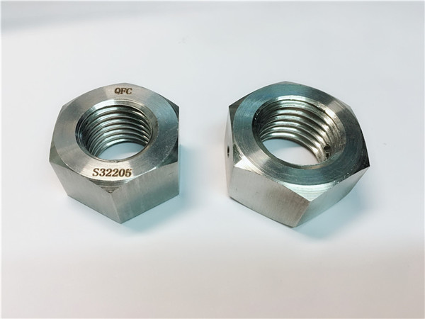 din934 stainless steel hex nut, duplex sainless steel hex nut