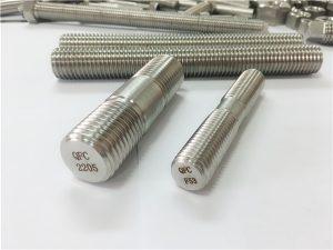 No.80-duplex 2205 S32205 2507 S32750 1.4410 taas nga kalidad nga fastener sa hardware nga kahoy nga sinulud nga gunitanan nga sinulud