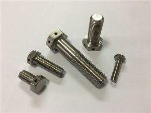No.89-Hastelloy C276 UNS N10276 2.4819 hex bolt DIN933 DIN931