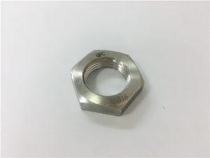 No.93- A2 A2-70 A2-80 A4 A4-70 A4-80 SS304 SS316 Stainless Steel SS Hex Thin Nut DIN936
