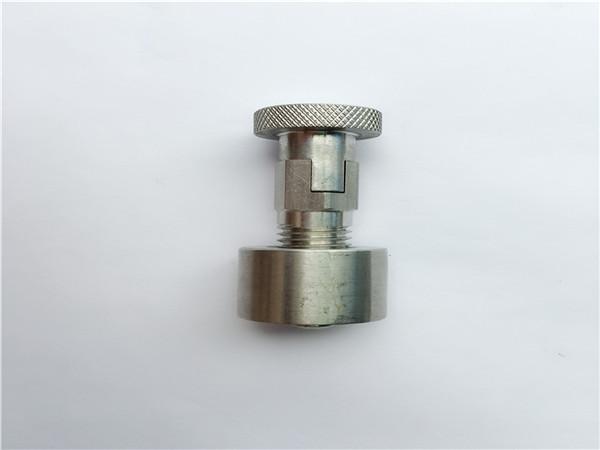 ss304, 316l, 317l, ss410 bolsa sa karwahe nga adunay round nut, dili standard nga mga fastener