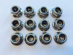 316L , 317L , 310S , 1.4462,1.4410 nylon nuts