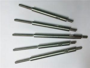 cnc precision machining stainless steel nga hilo nga mga fastener