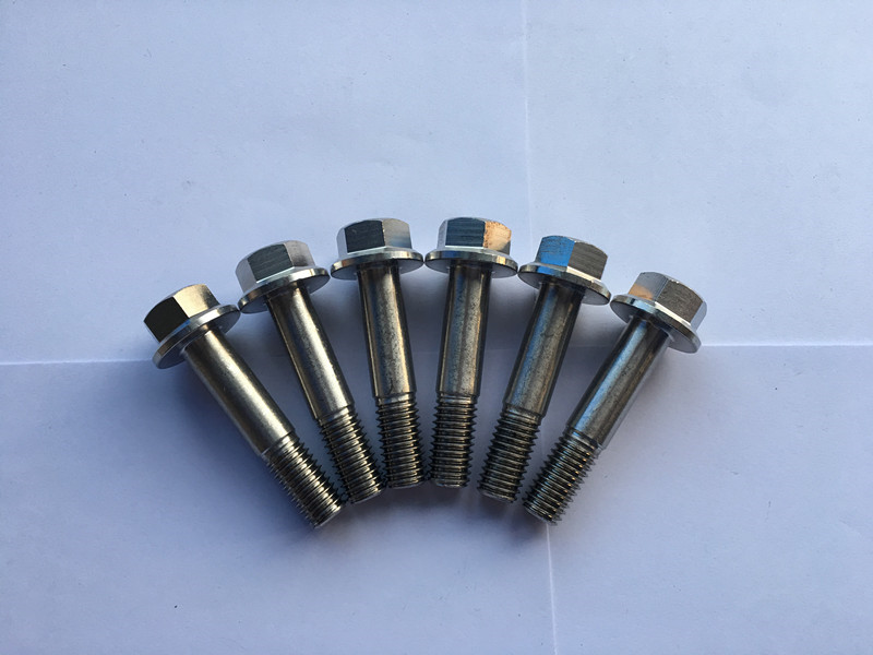 din 7504 super duplex f55 stainless steel hexagon flange head self-drilling screw