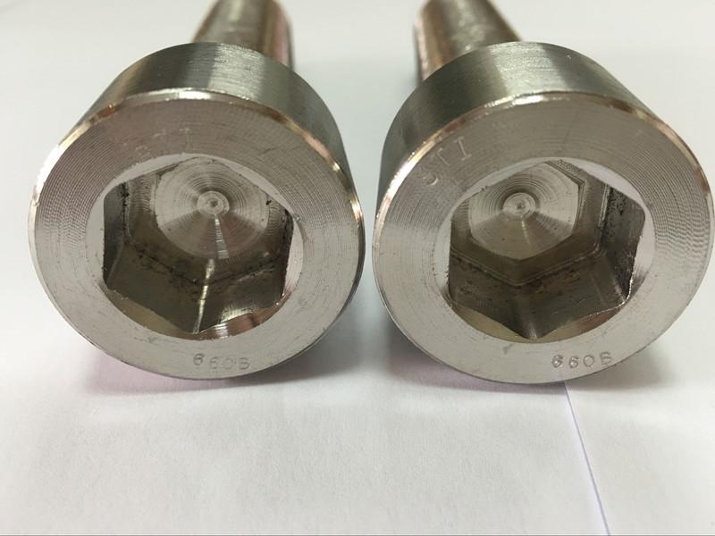 mga tiggama sa mga fastener DIN 6912 titanium hexagon socket head bolt
