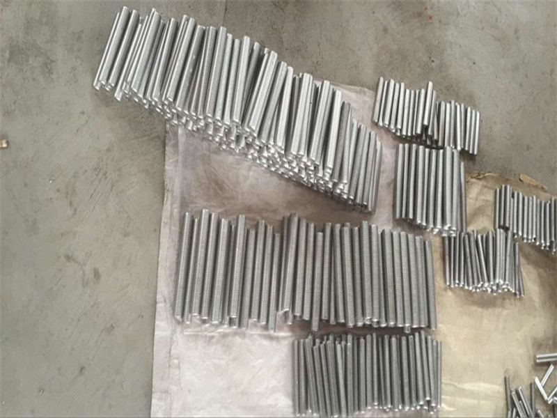 inconel 718 625 600 601 nga gripo nga hex stud bolt ug nut fastener M6 M120